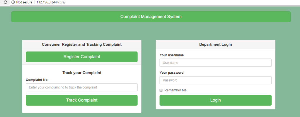 Register complaint to UHBVN