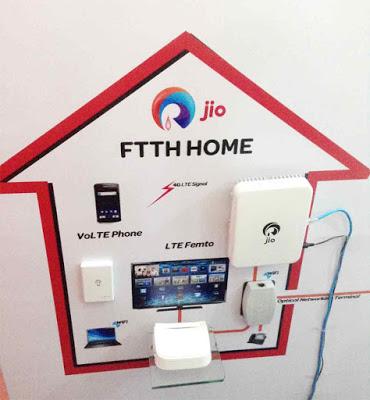 Jio Giga Fiber Broadband Service