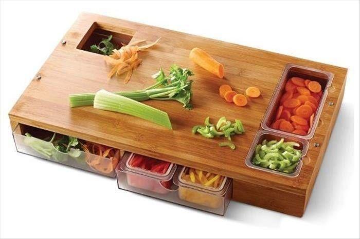 Clever cutting board