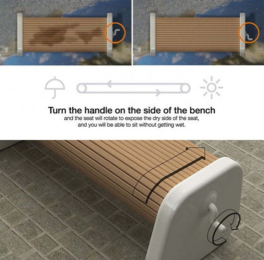 bench-that is always dry