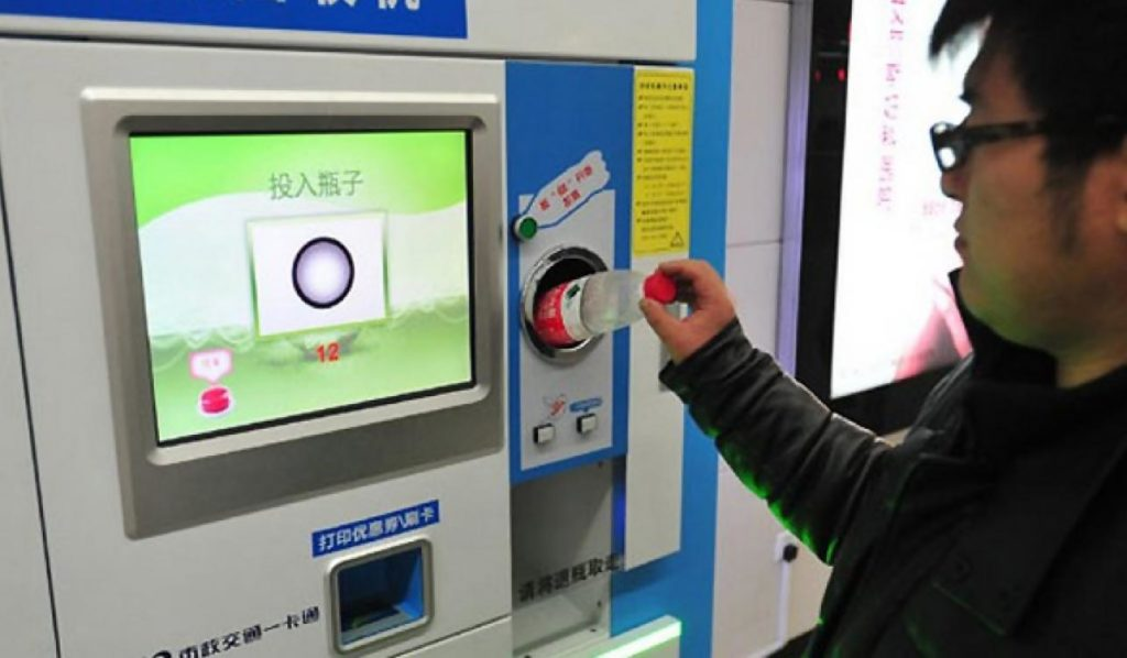 Subways where you can pay by recycling