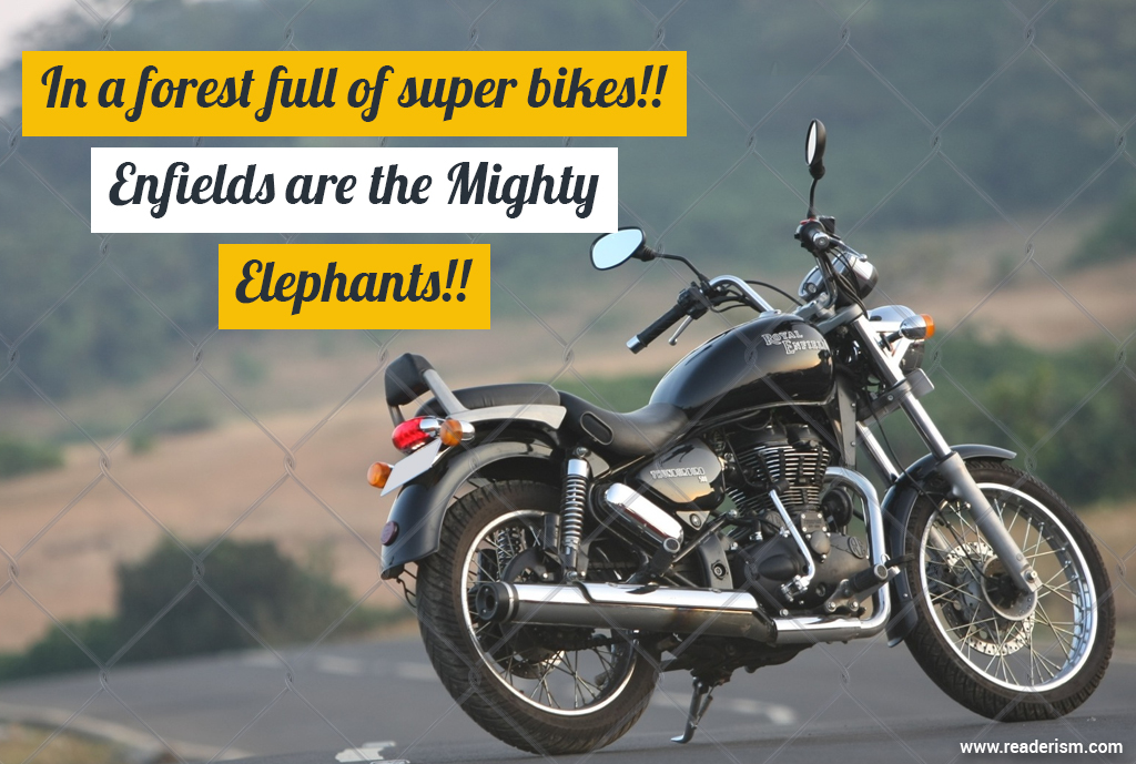 I Love Royal Enfield Quotes