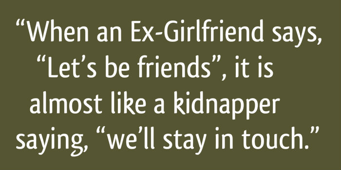 Insulting Quotes for Ex-Girlfriend