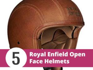 Top 5 Royal Enfield Open Face Helmets